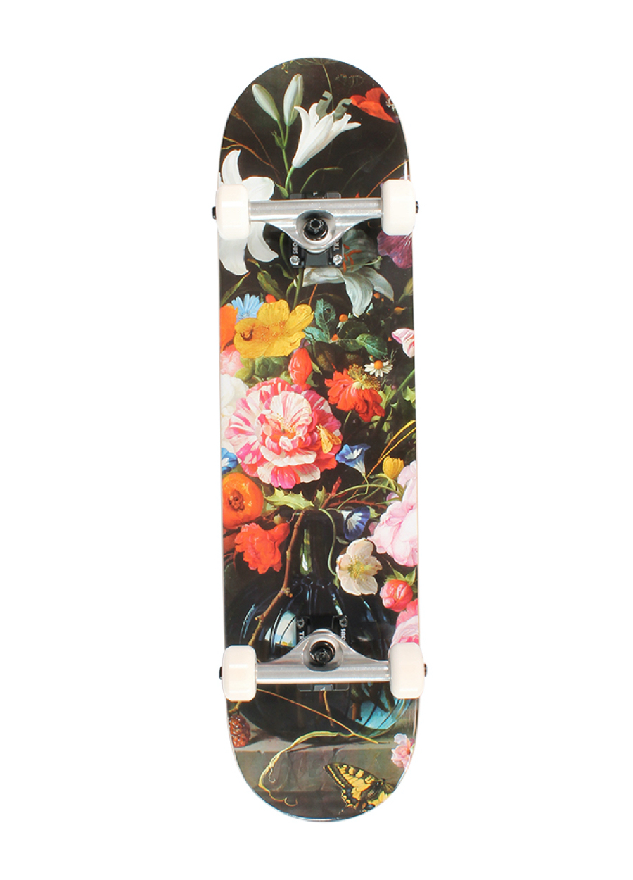 Über Skateboards, Flowers, Skateboard Complete - 8.25""