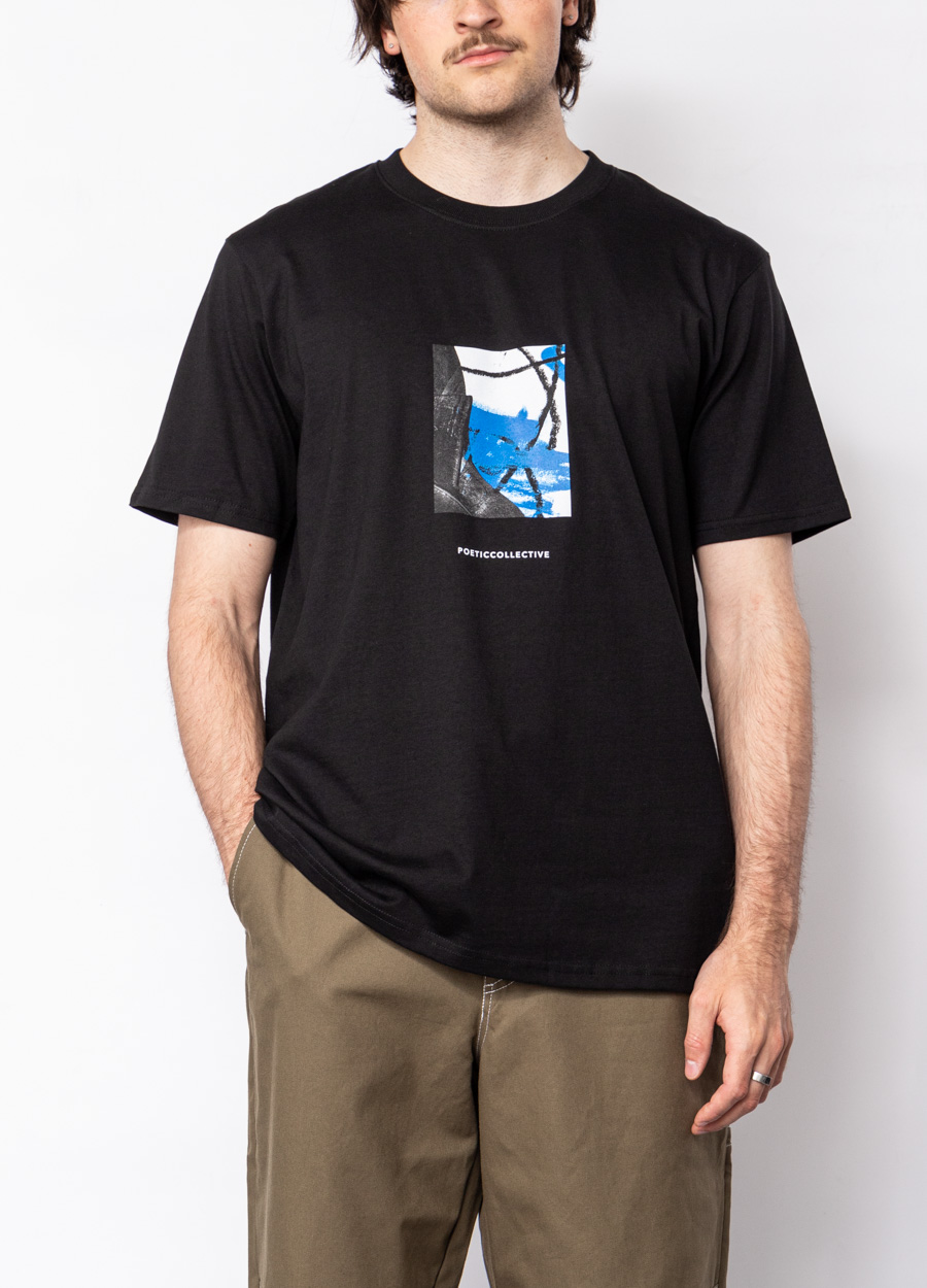 Poetic Collective  Painting T-Shirt - schwarz
