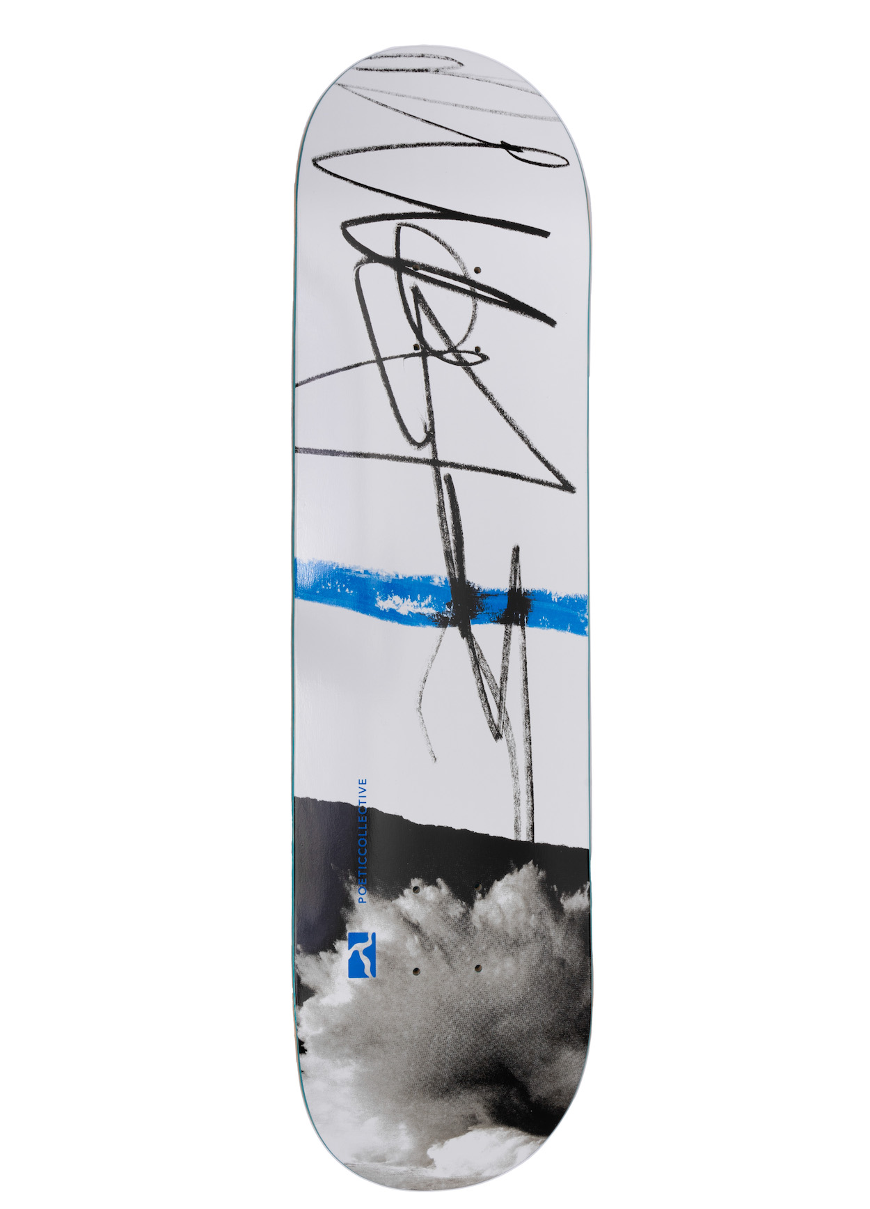 """Poetic Collective, Sketch Cloudy, Deck - 8.0"""""""