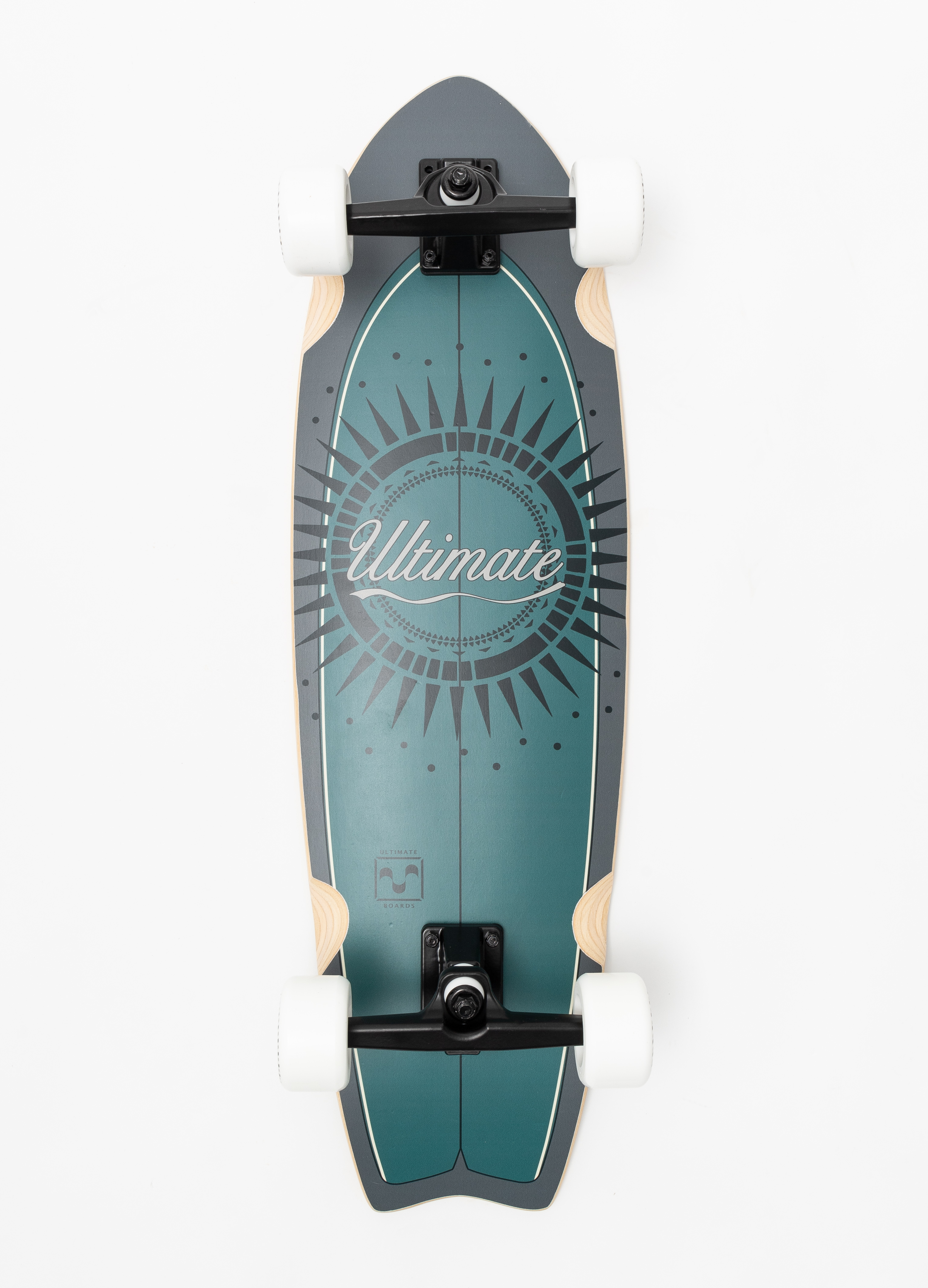 """Ultimate Boards, SOL, Surfskate, Fishtail, 32"""""""