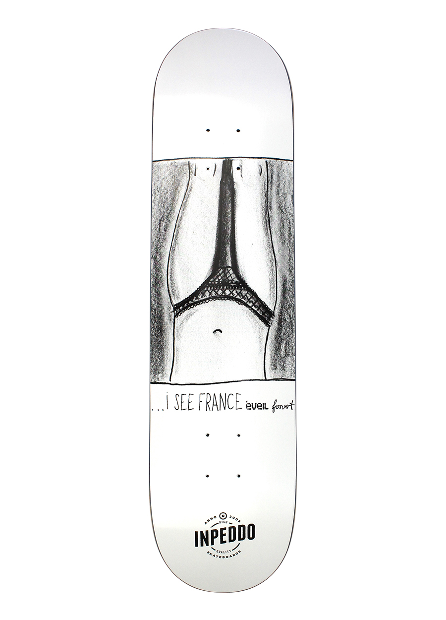 Inpeddo, I see France , Deck - 8.0""